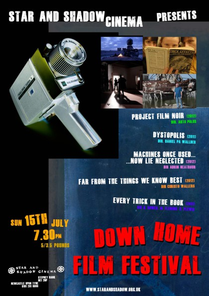 Downhome Film Festival Poster