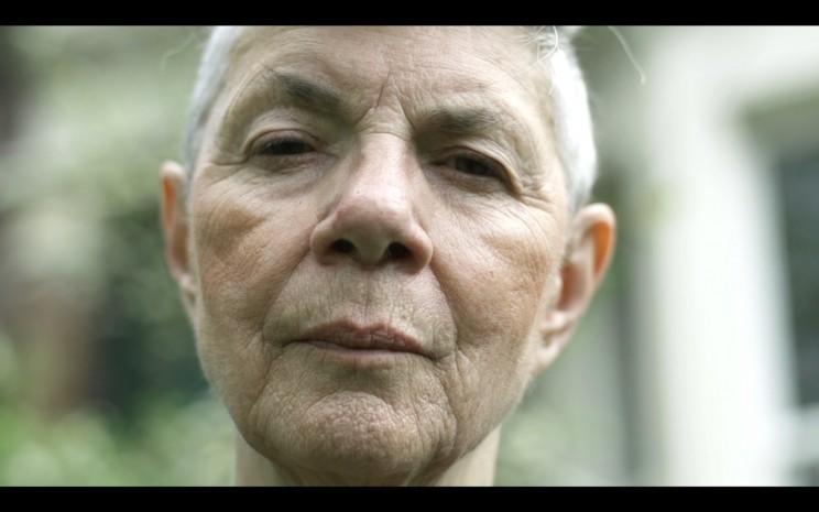 A screengrab from shortfilm Carole, 2014