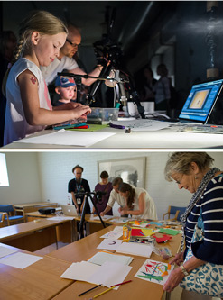 Animation Workshop, photos: Nina Huisman, Art Leak